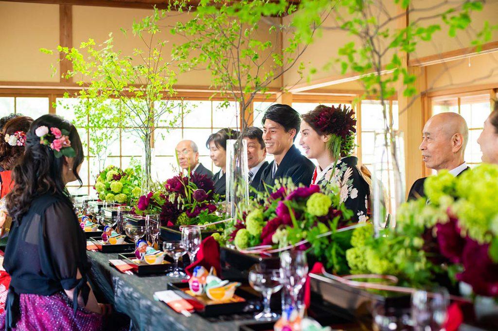 六英堂での披露宴・ご会食