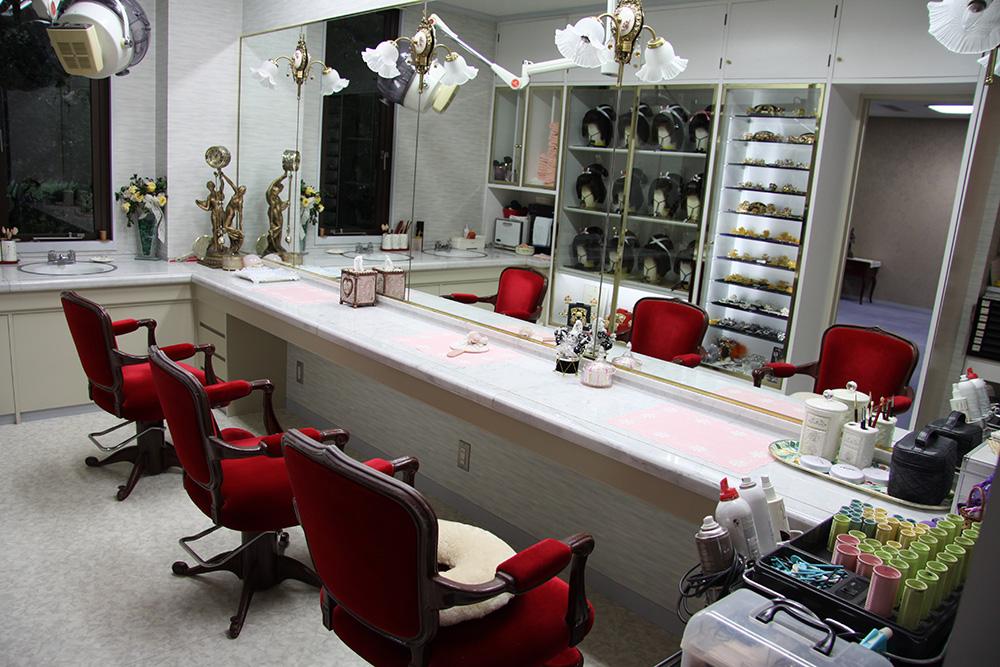 写真室・美容室・衣装室